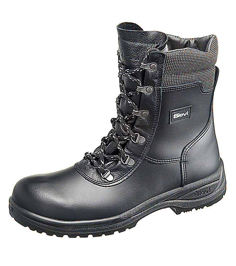 Sievi Solid Zip/Lace Up Boots - Safety